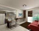 Apartamento 1Q - Sala
