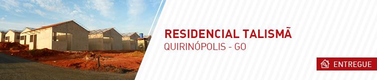 Residencial Talismã – Quirinópolis GO